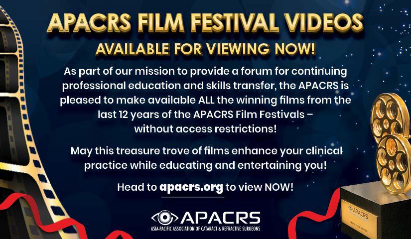 APACRS Film Festival Videos