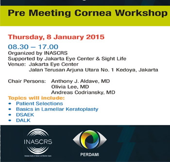 Pre Meeting Corneal Workshop
